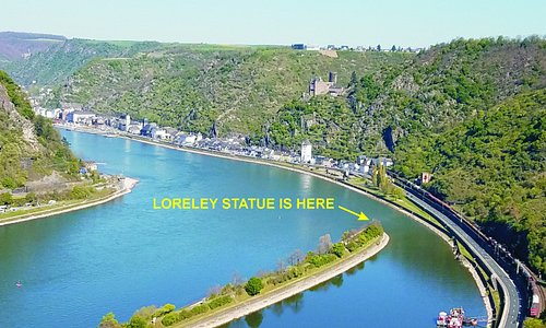 Location of the actual statue.