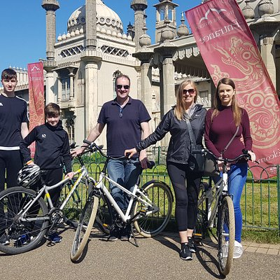 Private family bike tours of Brighton. Start from £99
