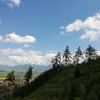 Janska dolina rozhledna & Kada (Janska valley watch tower & Kada warm springs)