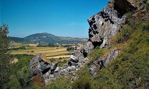 Formação geológica - antiga chaminé vulcânica