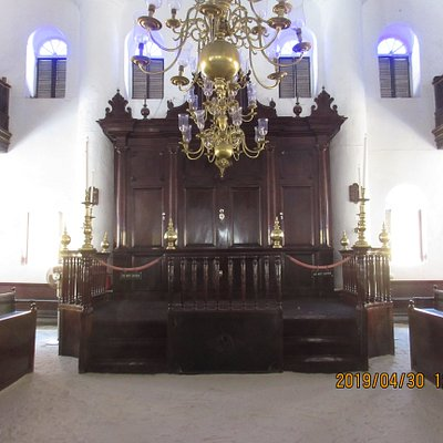 Inside the oldest synagogue in the Americas