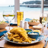 You can't beat fish & chips!