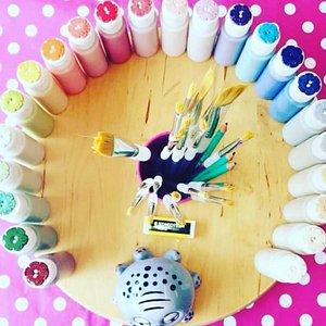 A rainbow of colours!