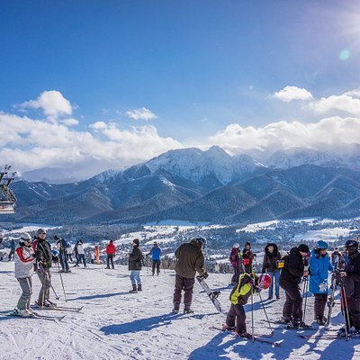Zakopane - ski slopes