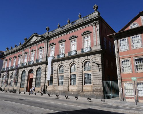A vista externa do Museu.