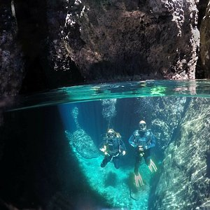 Lava Caves santorini!