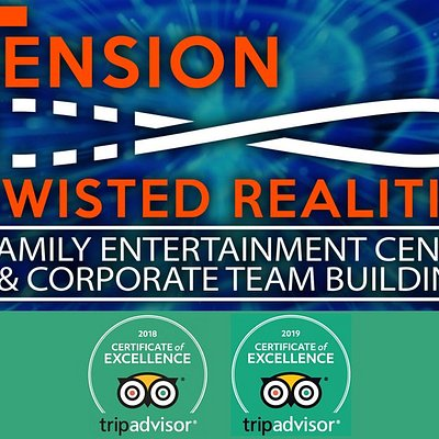 Tension Twisted Realities - 2 years running Certificate of Excellence awarded