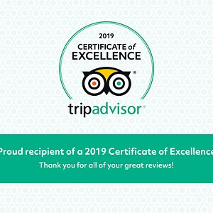 Proud recipient of a 2019 Certificate of Excellence!