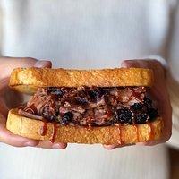 Chopped Brisket Sandwich
