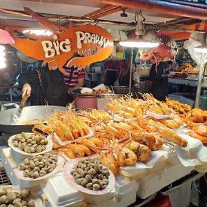 Hatyai Street stalls