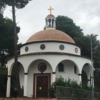 Православный Храм в честь Святого Георгия Победоносца к Калонхе, Каталония, провинция Жирона