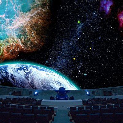 世界最大級のプラネタリウム