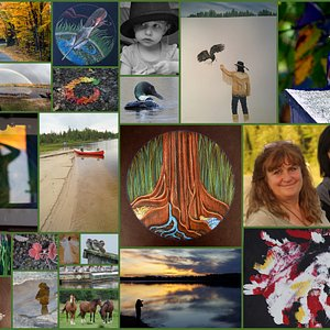 Just a few of the Art & Photography that have been shown at The Nature Natives Art Gallery since 2014.