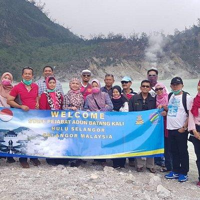 Tur Bersama teman teman dari malaysia