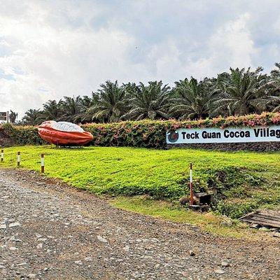 Teck Guan Cocoa Village Entrance