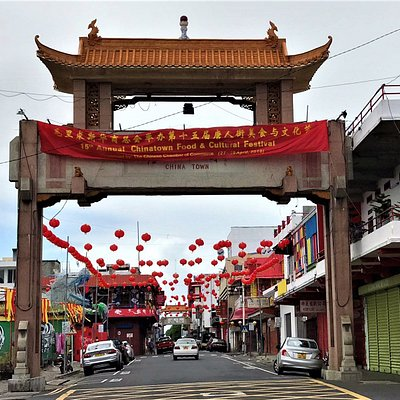 The portal to Chinatown
