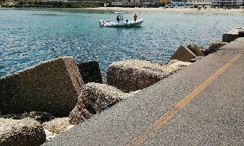 Oggi giornata di sole e di mare a S. Vito Chieti o (CH)