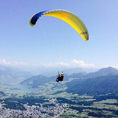 Flight from mount Rigi:)