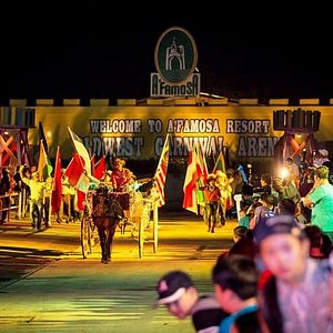 You are most WELCOME TO OUR A' FAMOSA OLDWEST CARNIVAL ARENA