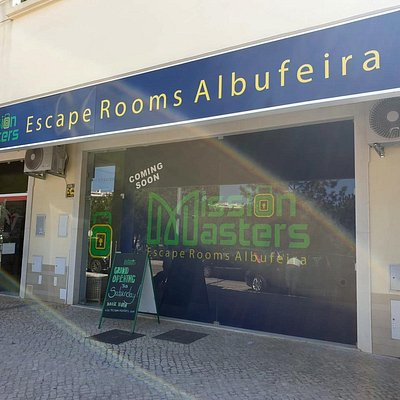 """Mission Masters Escape Rooms Albufeira is centrally located between Old Town and New Town.  Just hop off the fun touristic train at stop """"3 Palms/MGM Forte do Vale"""" and head downhill.  About a 1 minute walk till your mission begins!"""