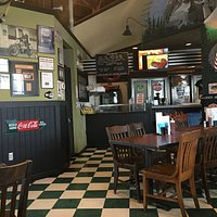 Inside view of Henry's BBQ