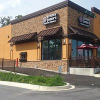 This picture shows the drive-thru.