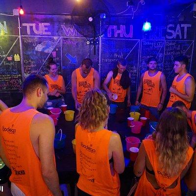 pub crawl night in Chaweng Beach