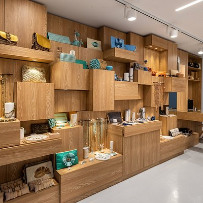Eco friendly materials displayed in a visual harmony