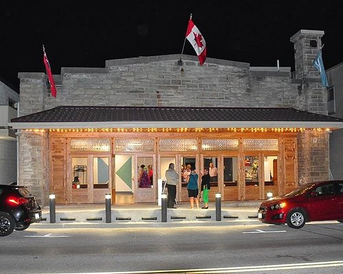 Fergus Grand Theatre - post-renovation evening