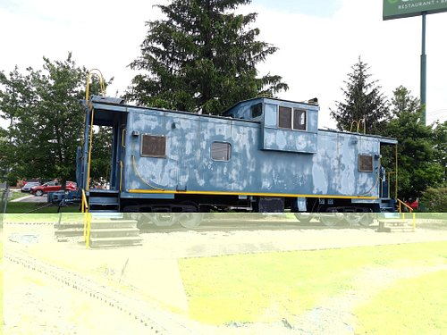 Old caboose.