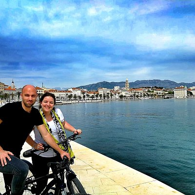 Blue Bike tour in Split