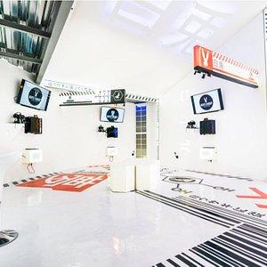 White Rabbit Virtual Reality Experience Lounge