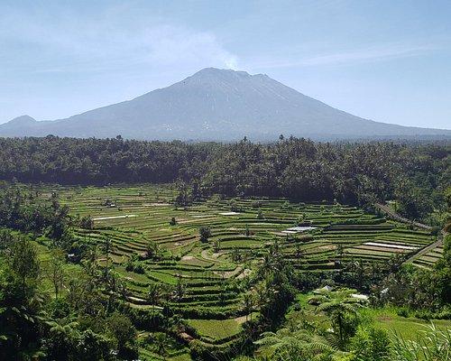 Mt. Agung Friday May 24th. Bali, Indonesia.