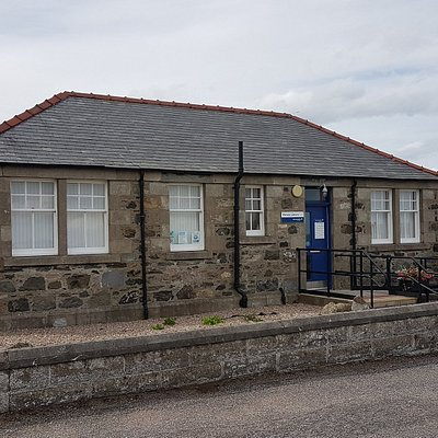 An external view of Portsoy Library