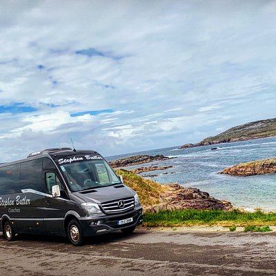 Golfing tour in Cruit Island Golf Club, Donegal in our VIP Mercedes coach. #Donegal