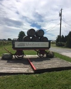 Entry to vineyard