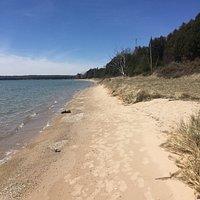 Sand Dunes Beach, Washington Island, Wisconsin