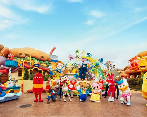Shinhwa Theme Park's Parade