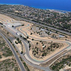 Foto aerea Circuit 2017 - Vistas al Mar