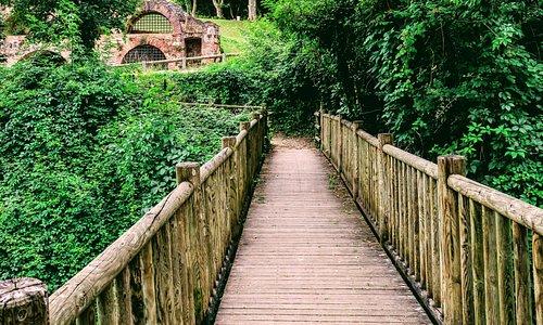 Un chemin de randonnée agréable et paisible du Château de Nègrepelisse vers l'île