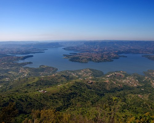 View of the Inanda Dam from Botha's Hill