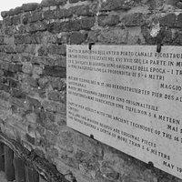 Giuseppe e Anita Garibaldi monumento a Porto Canale