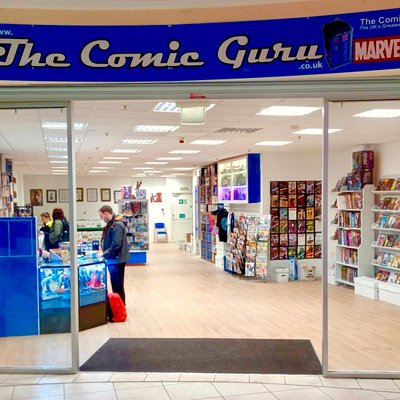 This is the new shop at Queens Arcade.  Huge Selection of comics books and assorted statues and figures.