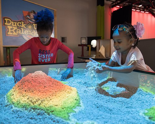Learn about cartography in our Topographic Sand Box!