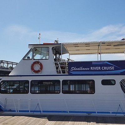 The new and improved Shoalhaven Explorer all ready at the Nowra Public Wharf