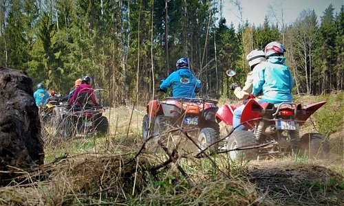 "QUAD SAFARI in Latvian forests with ""GREENROADTRIPS"""