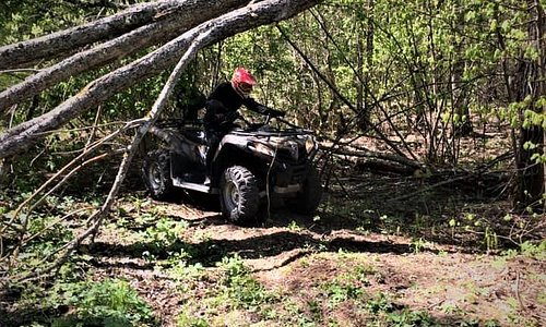 "QUAD SAFARI in Latvian forests with ""GREENROADTRIPS""