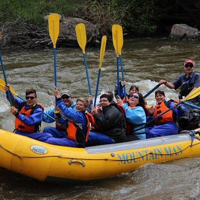 Mountain Man Rafting Family Trips