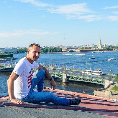 Excrusión por tejados de San Petersburgo