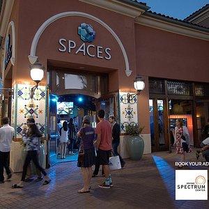 SPACES at the Irvine Spectrum Center.
